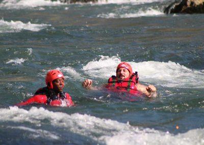 Rafting sul Brenta