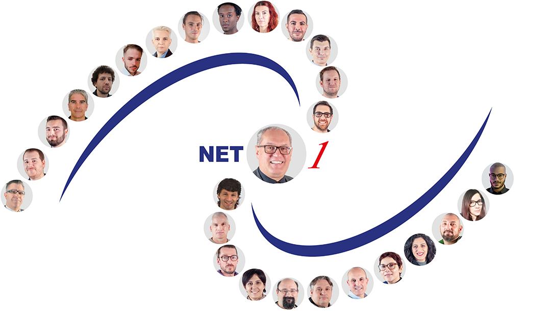 Lo staff di Net 1